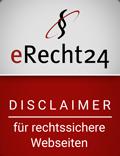 erecht24-siegel-disclaimer-rot